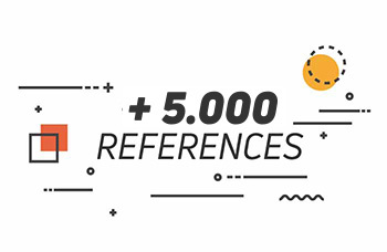 +10.000 references