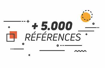+10.000 références