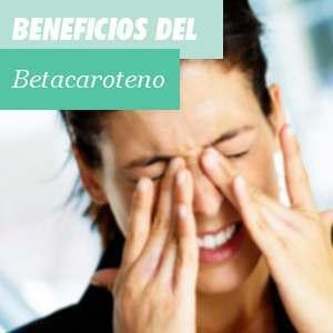 Beneficios del Betacaroteno
