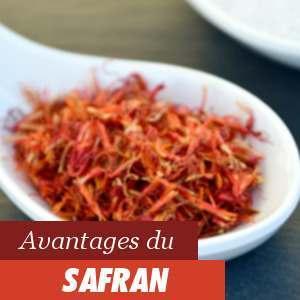 Avantages du safran
