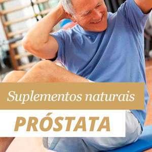 Suplementos para a próstata