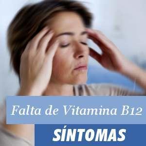 Síntomas falta de Vitamina B12