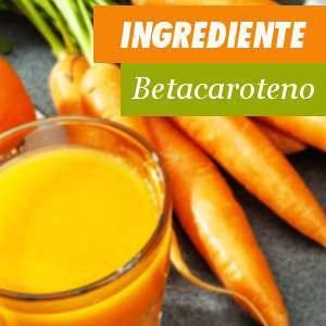 Ingrediente Betacaroteno