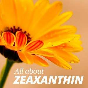 All about Zeaxanthin