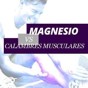 Magnesio y los calambres musculares