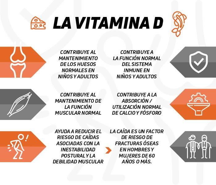 Propiedades de la Vitamina D